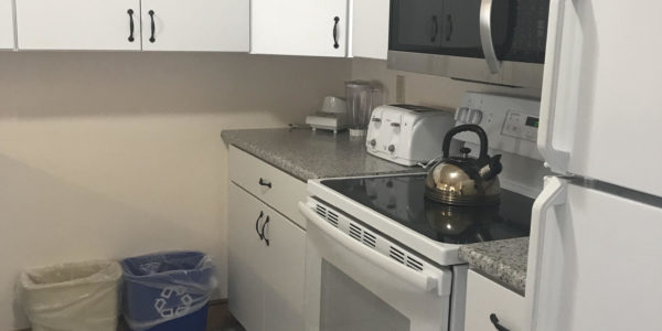 Fully equipped Townhouse kitchen